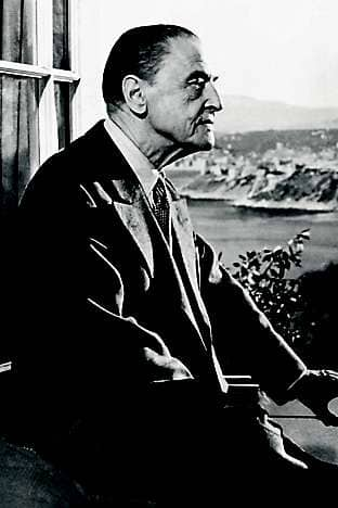 W Somerset Maugham, one of the hotel's most celebrated past guests