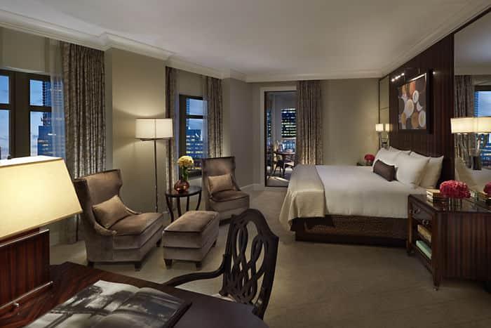 . Terrace Hotel Rooms in Atlanta   Mandarin Oriental  Atlanta