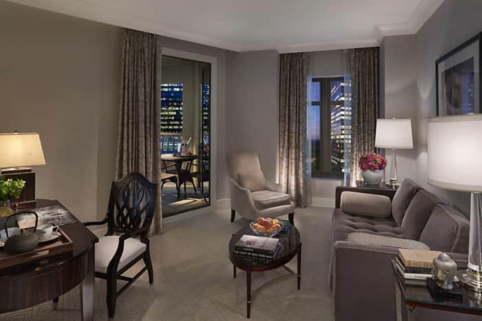 . 2 Bed Luxury Hotel Suite   Mandarin Oriental  Atlanta