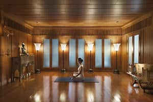 Yoga im Oriental Spa