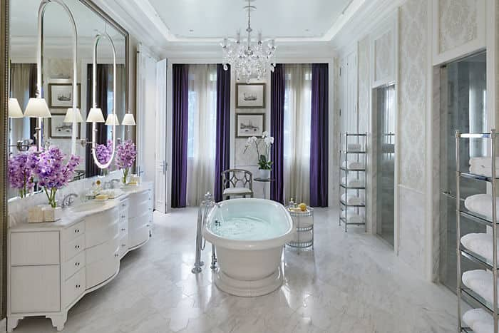 Royal suite mandarin oriental bangkok for Salle de bain royan