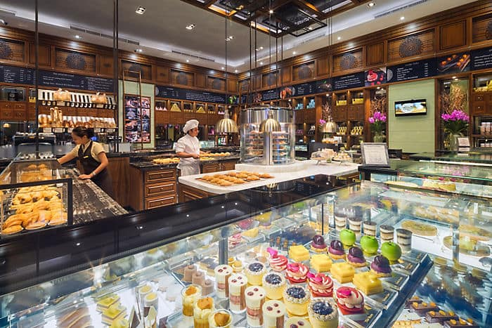 Mandarin Cake Shop Bangkok