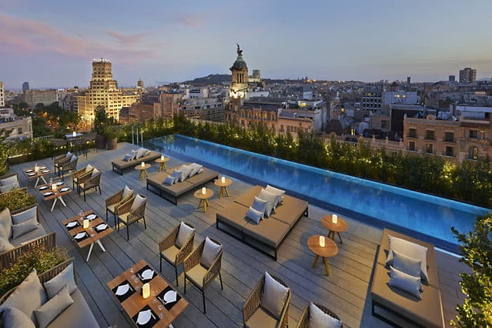 Terrat hotel mandarin oriental de barcelona for Bar jardin barcelona
