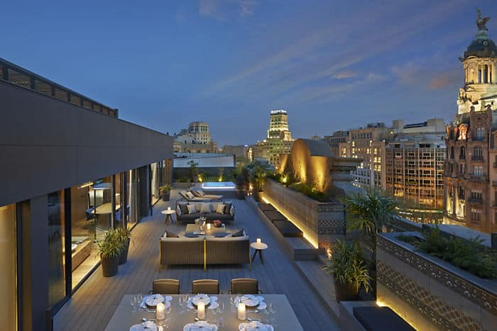 Hbergement Barcelone Suite Mandarin