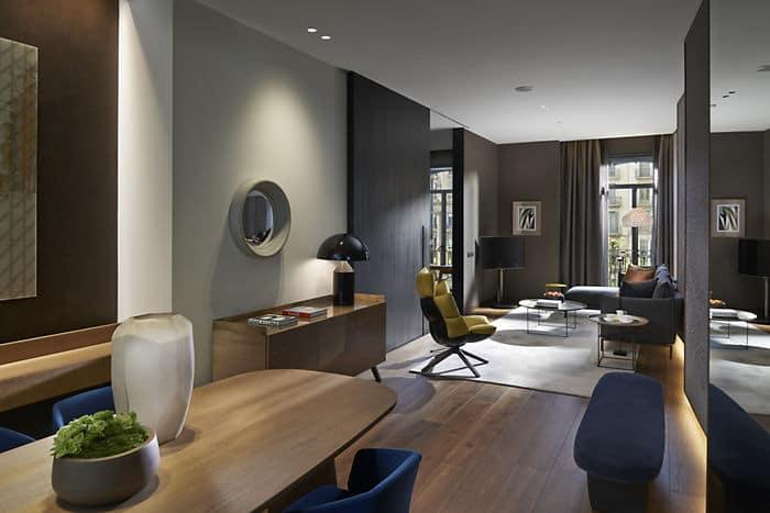 Alojamiento En Barcelona Suite Deluxe Hotel Mandarin