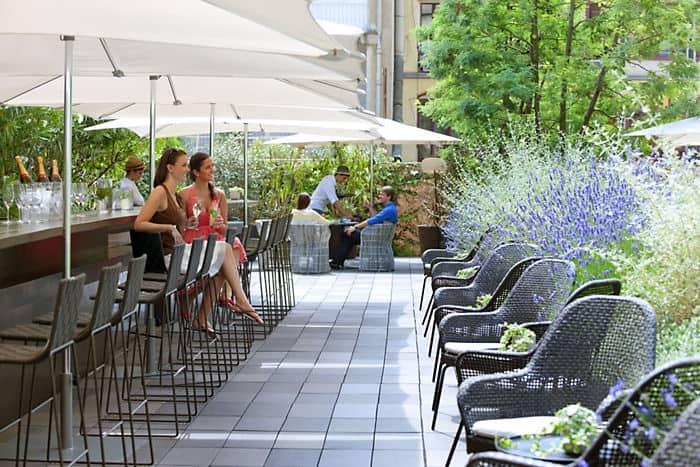 Jard n mimosa hotel mandarin oriental de barcelona for Hotel jardin barcelona