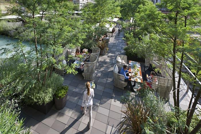 Mimosa garden mandarin oriental hotel barcelona for Bar jardin barcelona