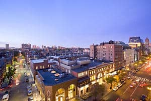 Boylston Street - View from hotel