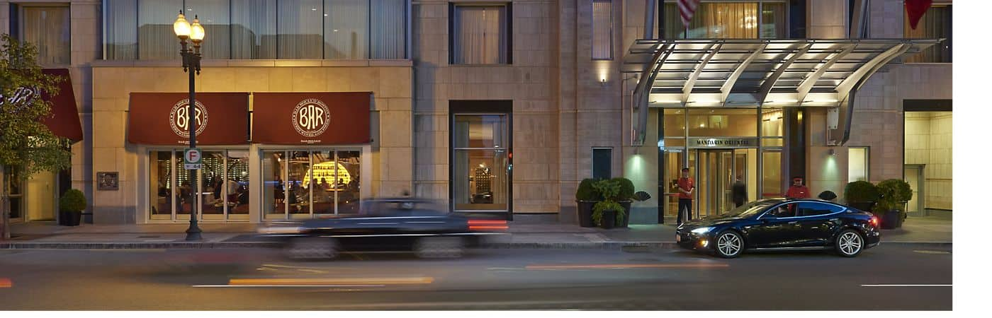 Mandarin Oriental, Boston is a luxury hotel located on historic Boylston Street right near Copley Square.