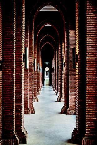 The corridor to The Spa