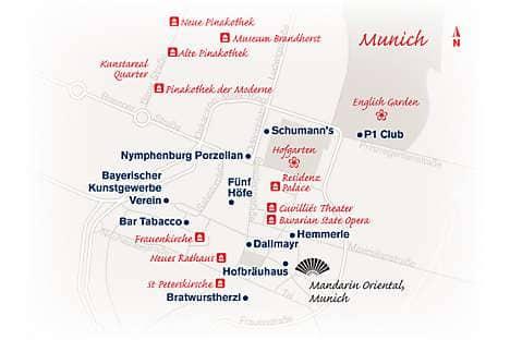 Map of Munich