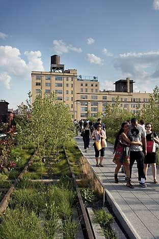 The new High Line public park on Manhattan's west side is already much loved