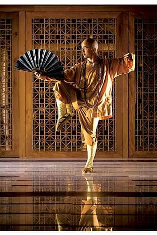 Shaolin Master Hu is a star attraction