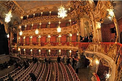 Inside the Cuvilliés Theater