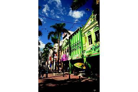 Century-old shops along Jalan Hang, Kasturi, near the Central Market