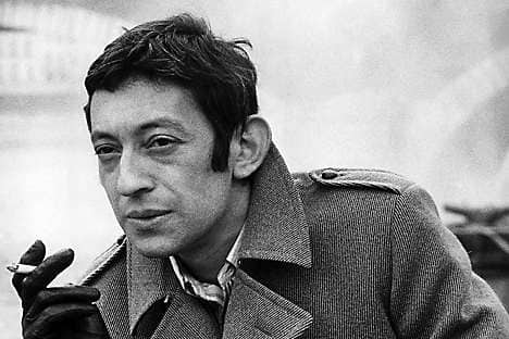 Serge Gainsbourg, one of Le Bras' favourite musicians