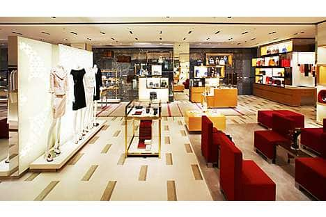 Louis Vuitton at The Landmark shopping centre in Central