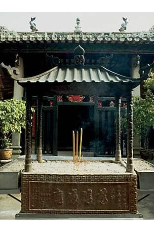The Buddhist temple complex of Kun Lam Tong