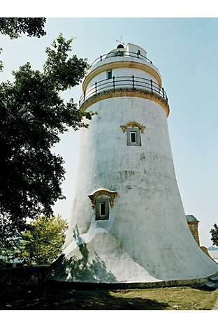The Guia Lighthouse on Guia Hill