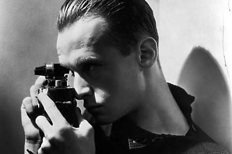 A portrait of Henri Cartier-Bresson, whose retrospective is at the Centre Pompidou