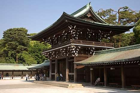 Tokyo's Meiji Jingu Shrine