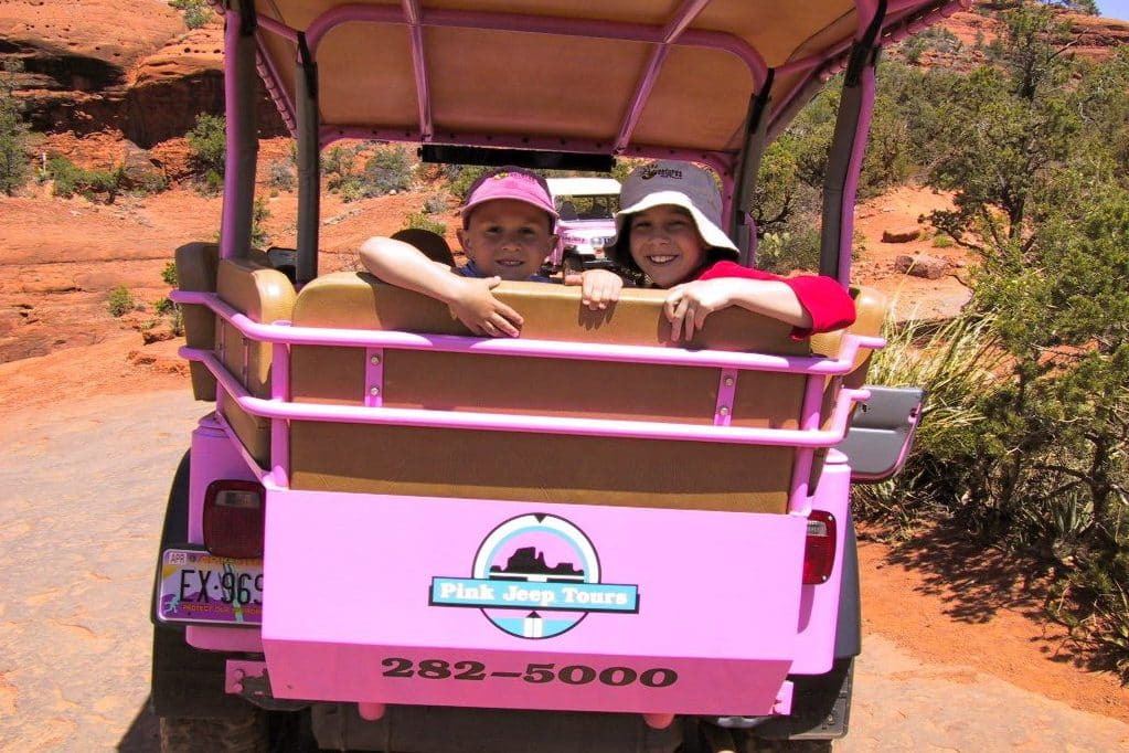 Pink Jeep Tours at Red Rock Canyon