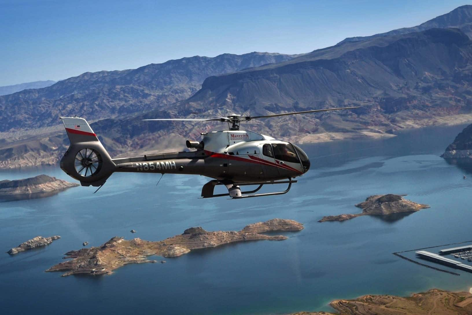 A Maverick helicopter tour over the Colorado River