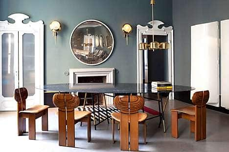 Vintage furniture at Studio Dimore Collection