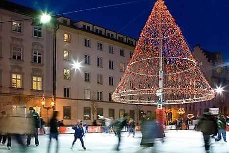 The Ovocny trh ice rink