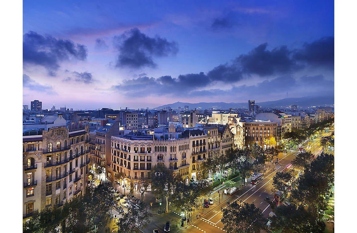 Mandarin Oriental, Barcelona, on the Passeig de Gràcia