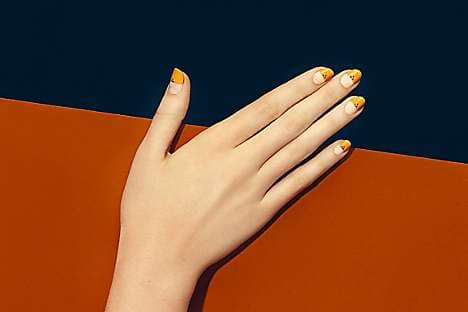 One of Paintbox's on-trend nail designs
