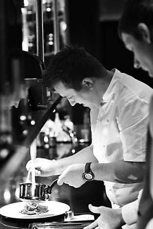 Head chef Ashley Palmer-Watts