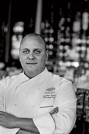 Executive chef Christian Pratsch, who oversees Asiate