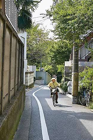 Tranquil, leafy lanes in the Yanaka area