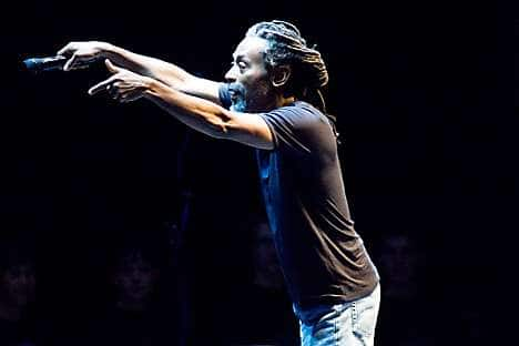 Bobby McFerrin, who is performing at the Java Jazz Festival