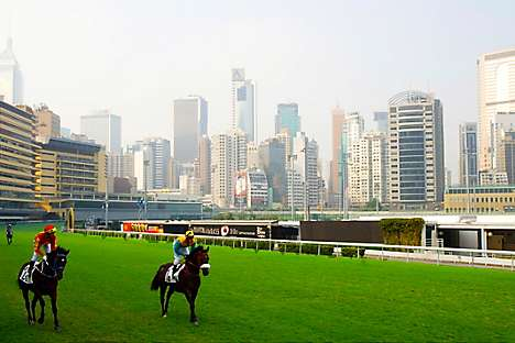 The Happy Valley racecourse, a venue for Le French May