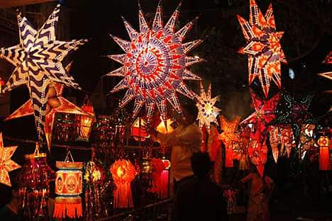 Paper festival lanterns