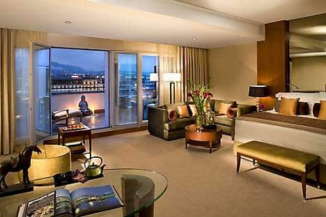 A Junior Terrace Suite at Mandarin Oriental, Geneva