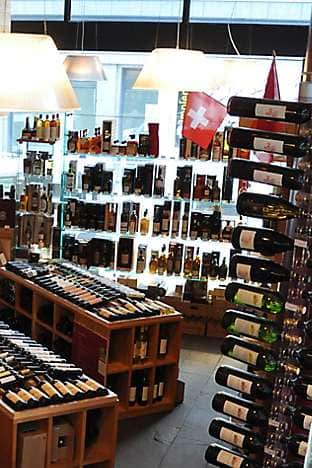Genevan wine store Lavinia