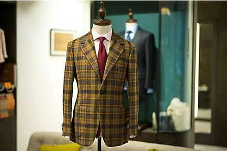 Tailoring at WW Chan & Sons