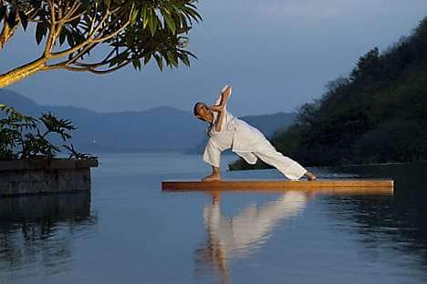 A yoga master