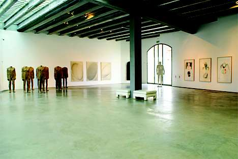 Contemporary exhibits at Museum Kampa
