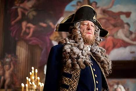 In the role of Hector Barbossa in Pirates of the Caribbean: On Stranger Tides