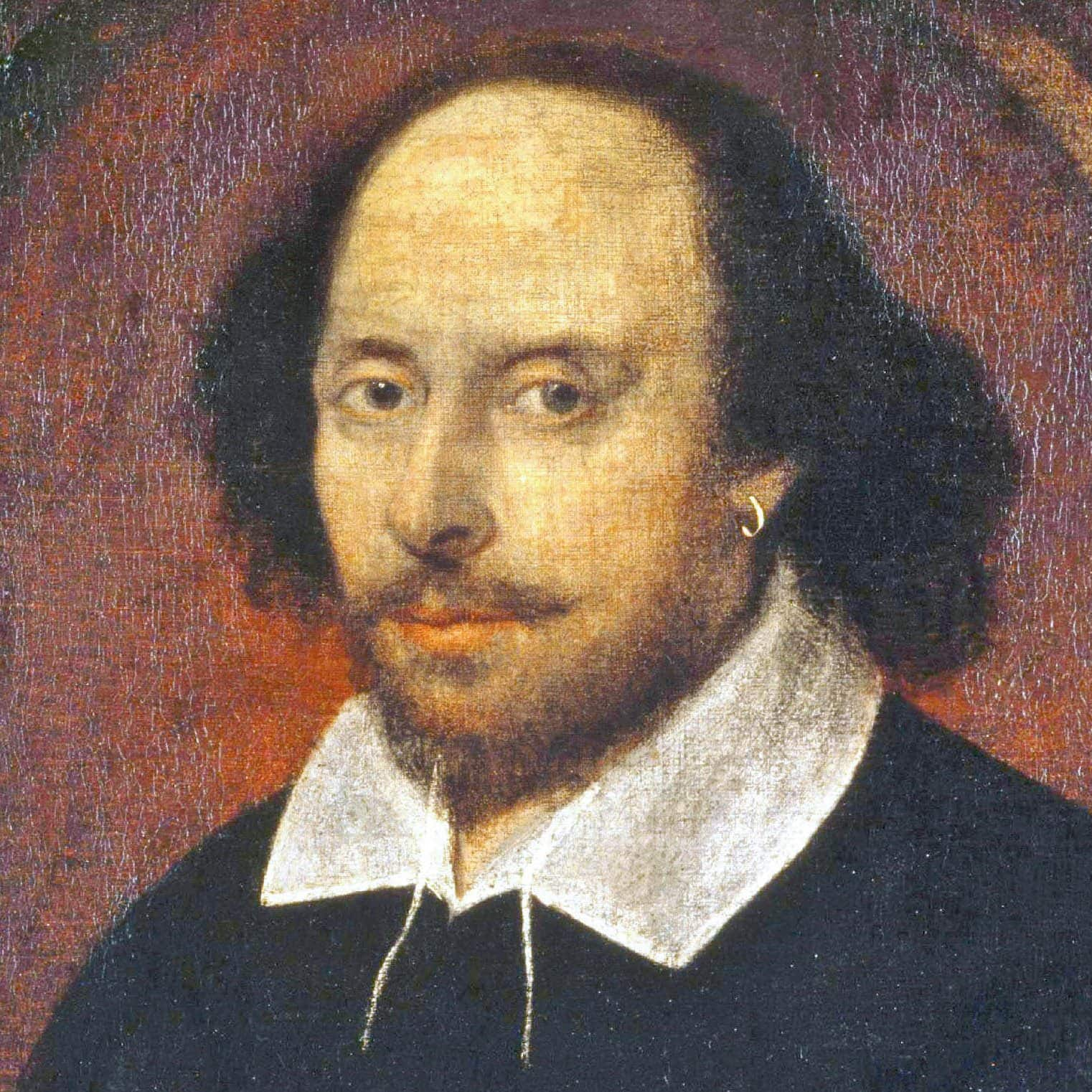 Poet and playwright William Shakespeare