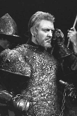 Donald Sinden in The Wars of the Roses trilogy