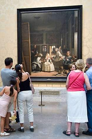 Viewing Velázquez at the Prado