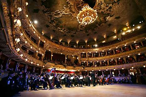 Inside the State Opera