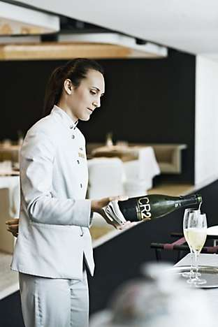 The CR20 cava was made by Mont-Ferrant, using Carme's coupage, to mark the 20th anniversary of her Sant Pau restaurant