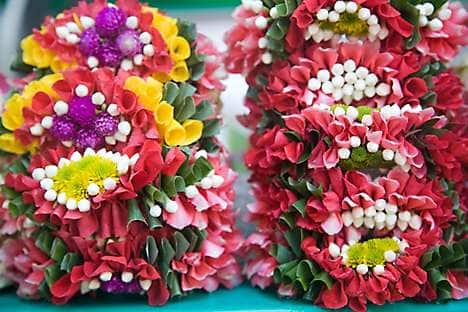 Flowers at Pak Khlong Talat market