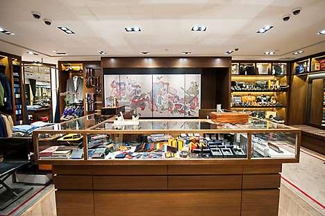 Menswear store The Armoury